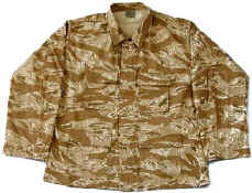 Original Desert Tiger Stripe BDU Jacket